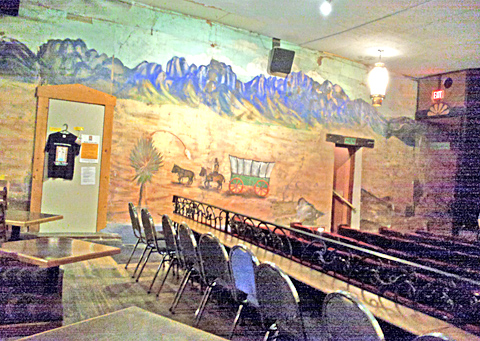 Fountain Theater - Inside Mural